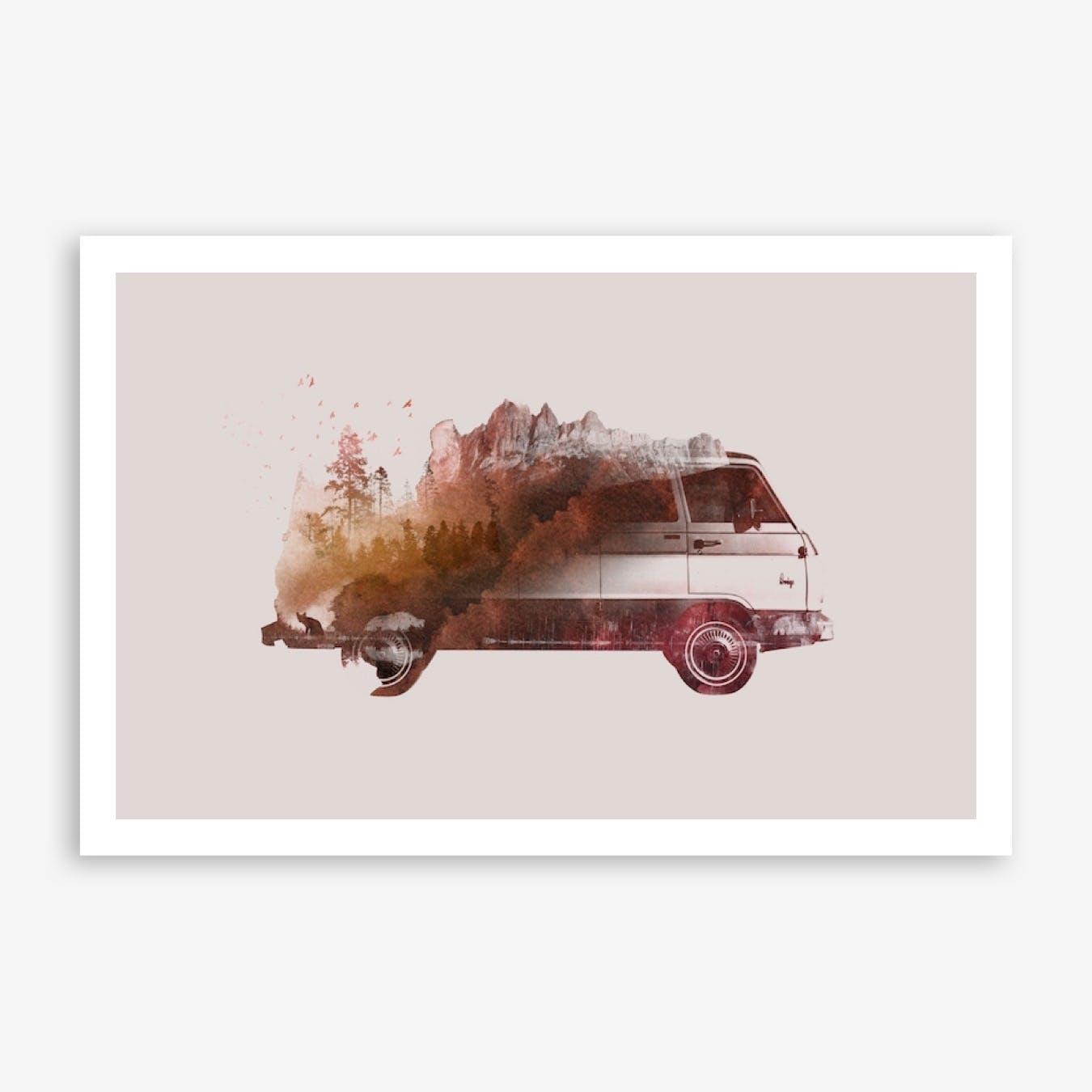 Drive Me Back Home 01 Print