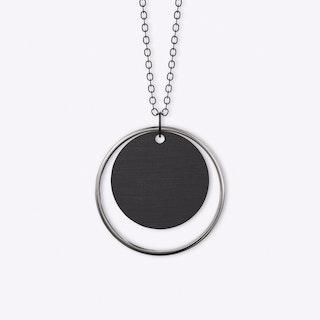Adverbium Necklace in Silver
