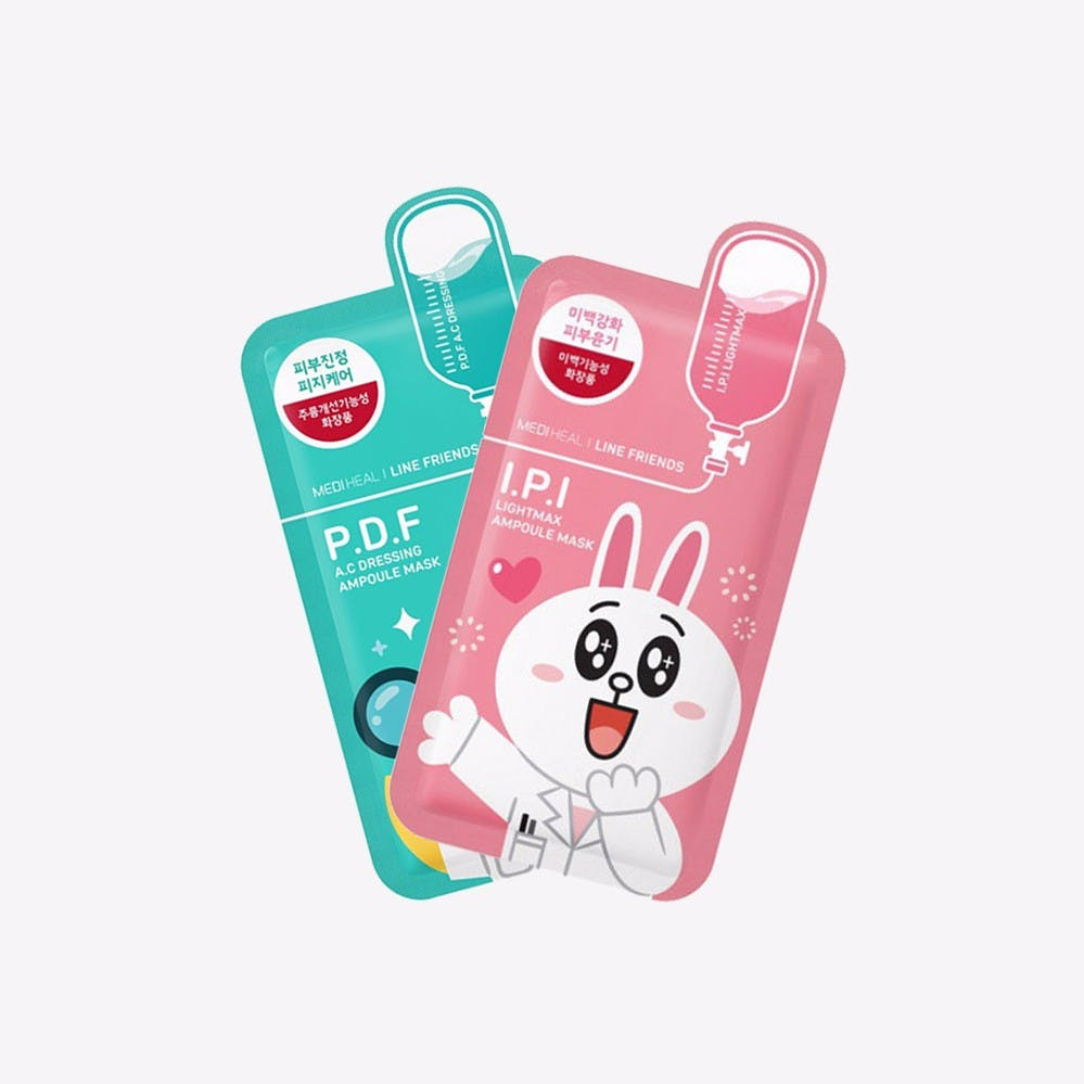 MEDIHEALS Line Frennds Mask set