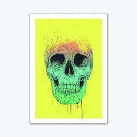 Pop Art Skull Art Print