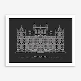 Wayne Manor Art Print