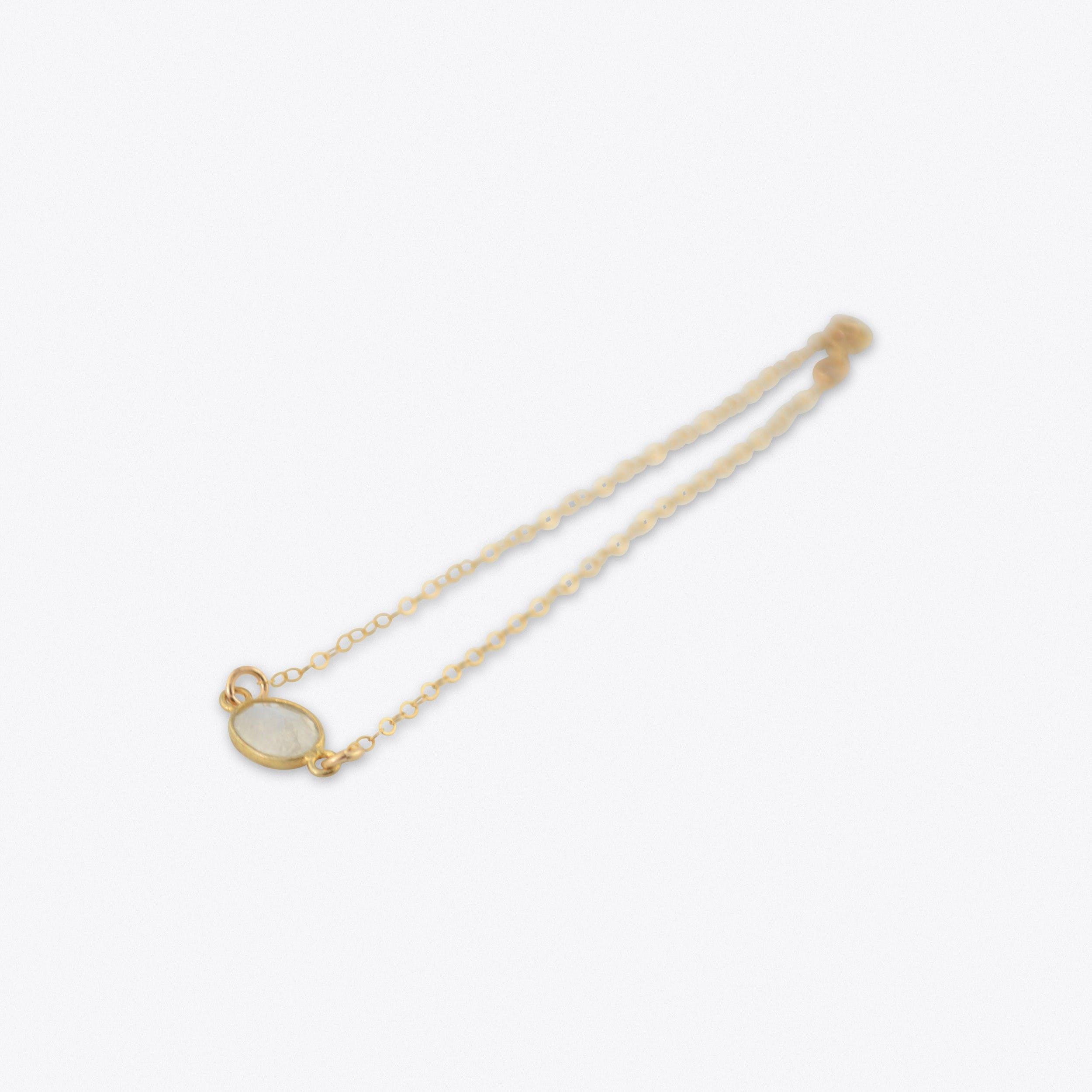 Moonstone Bracelet in Gold