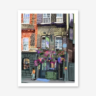 The Grapes, Narrow Street, Limehouse A3 Art Print