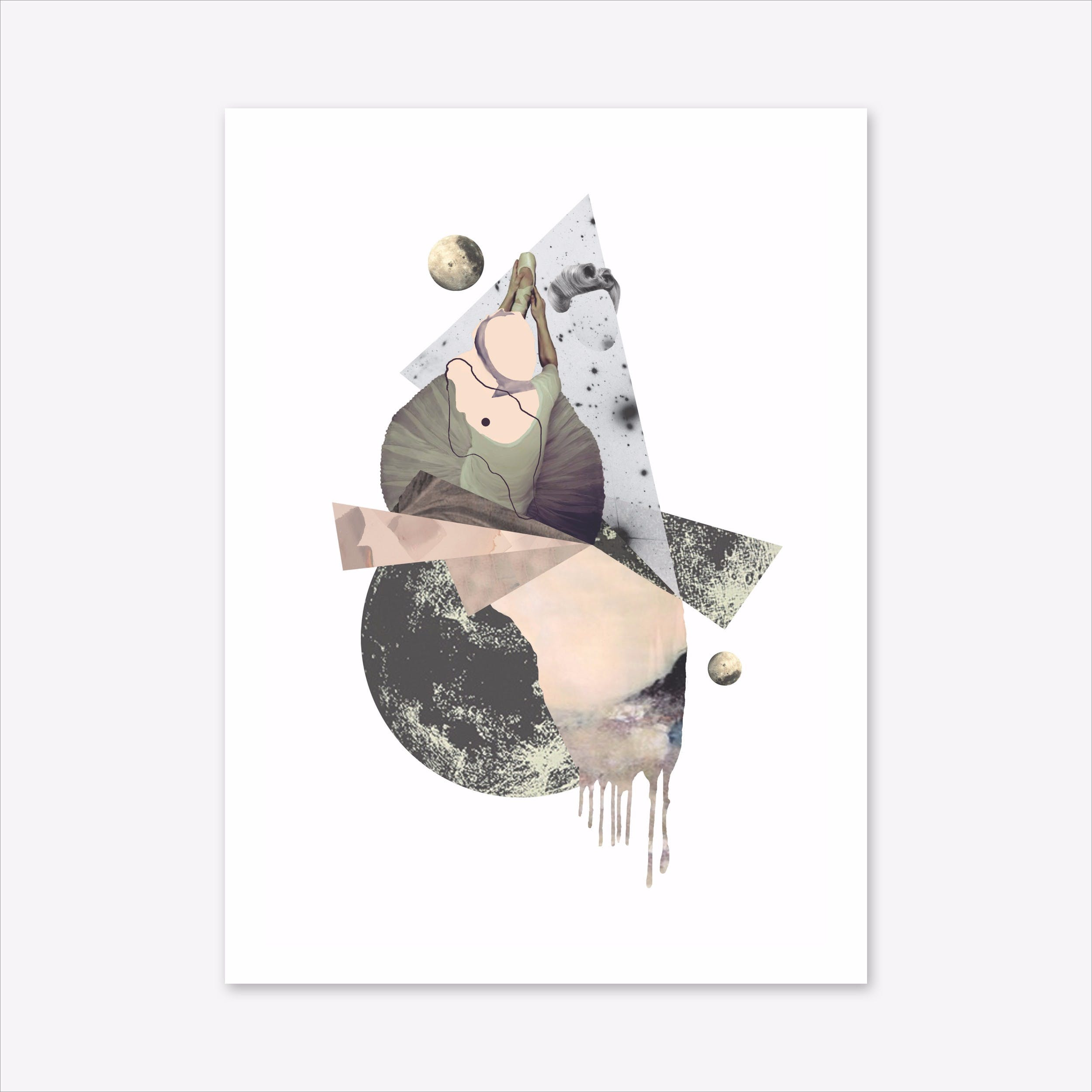 Moon Dancer Print in A3