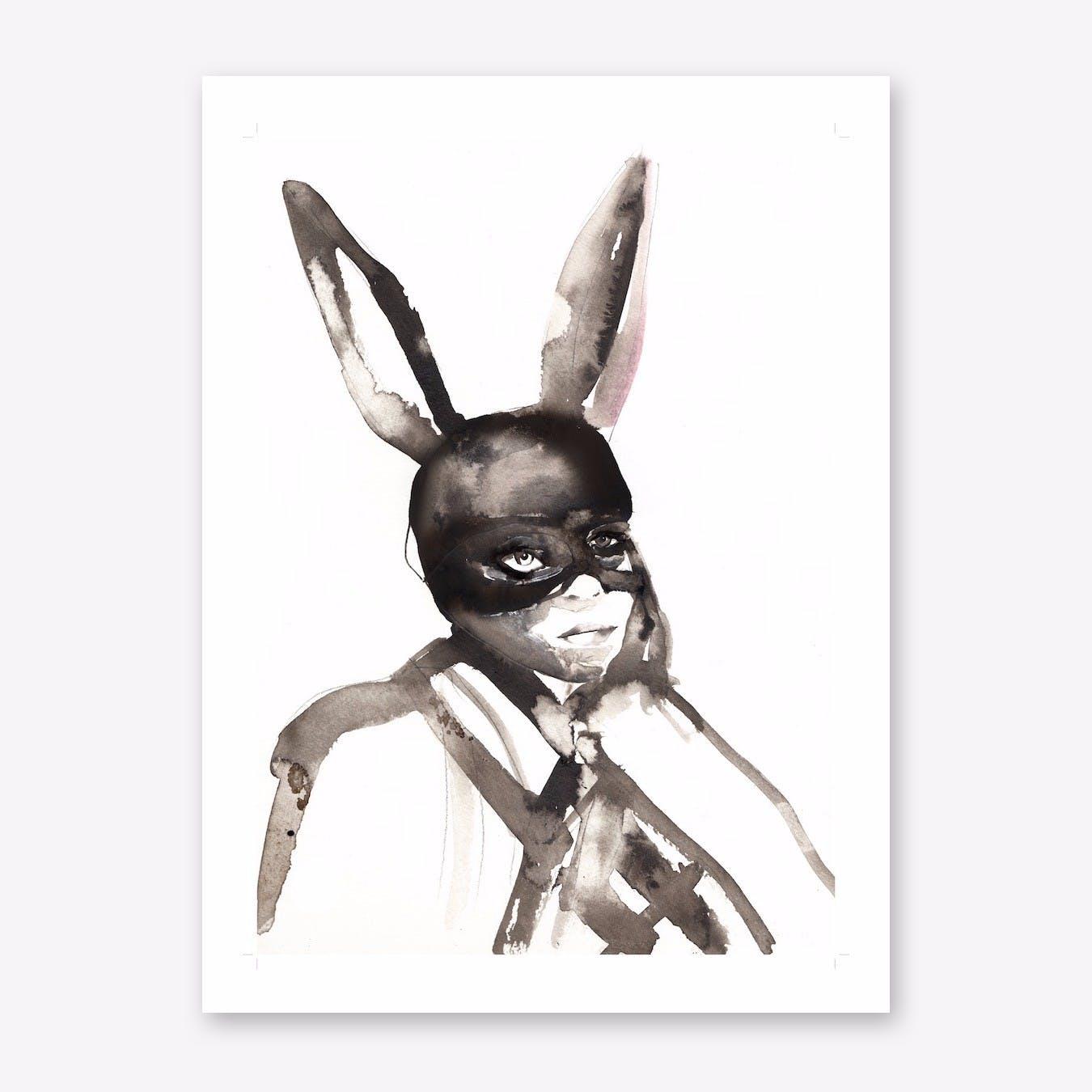 Happy Bunnies 2 Art Print
