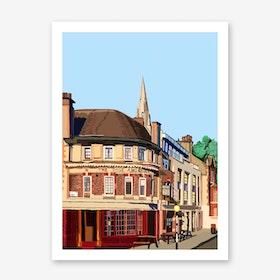 Rose and Crown, Stoke Newington A3 Art Print