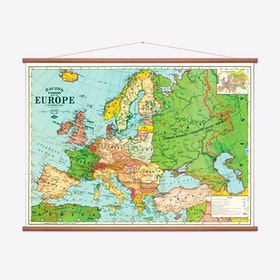 Map of Europe Art Print