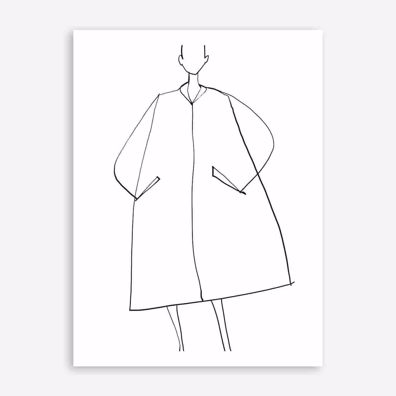 Lil Coat Print