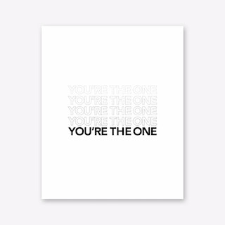 The One Art Print