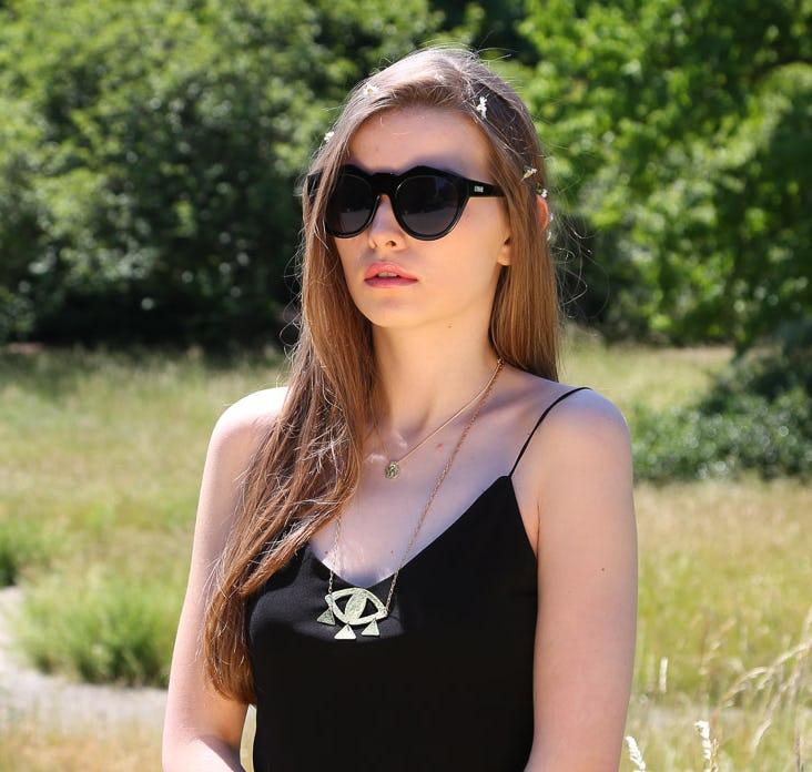 Neo Noir Neo Noir Sunglasses in Black