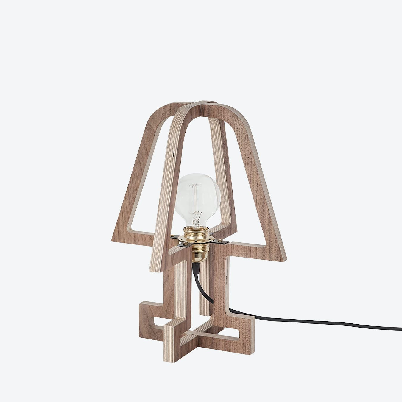 Table Lamp w Pink Cord by Haim Evgi Fy