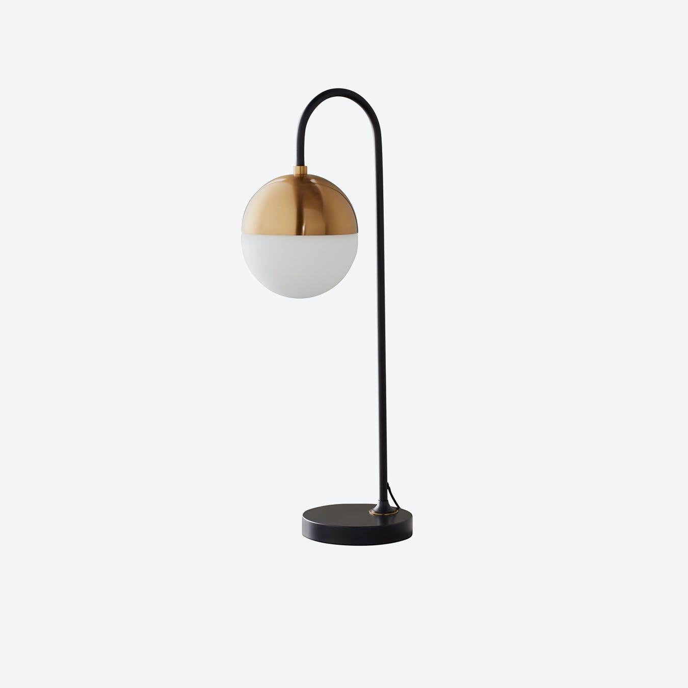 Mayfair Black Gold Table Lamp