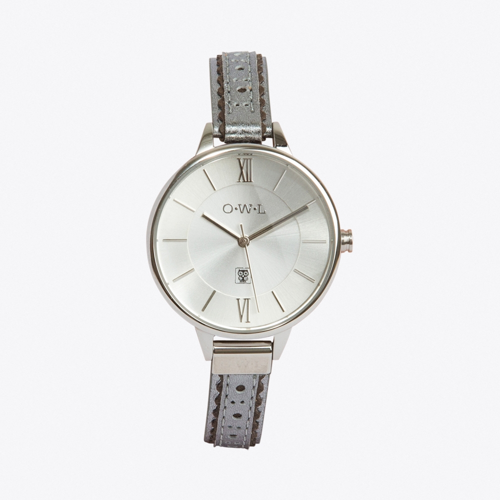 Belfast Watch in Silver