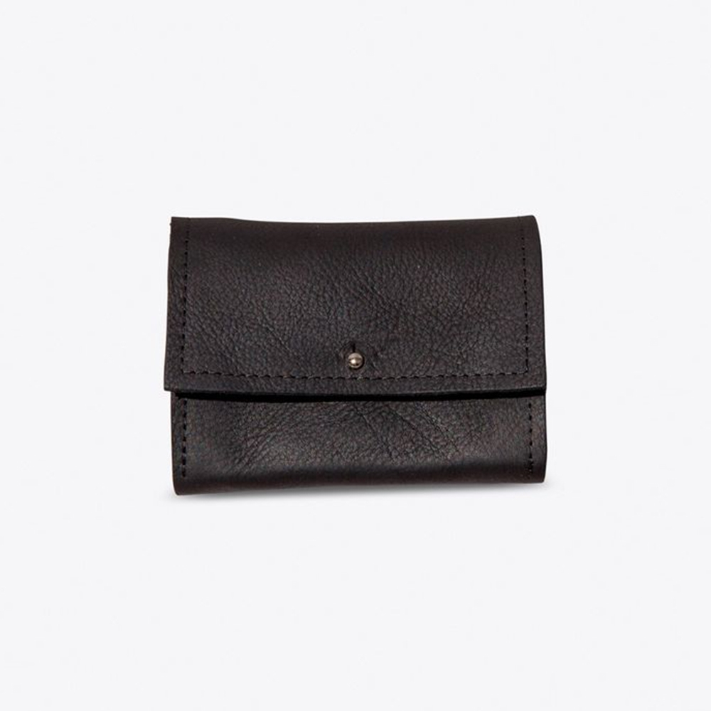 The Mini Wallet in Black