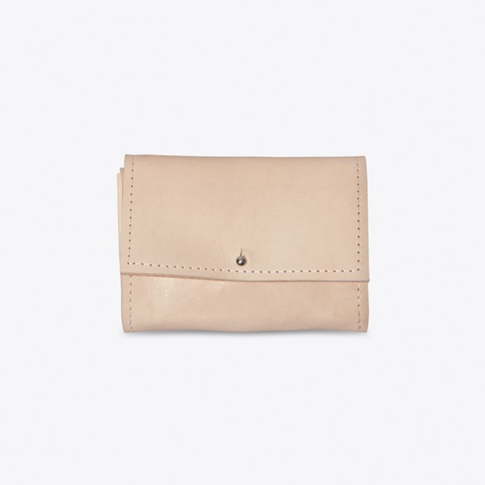 The Mini Wallet in Nude