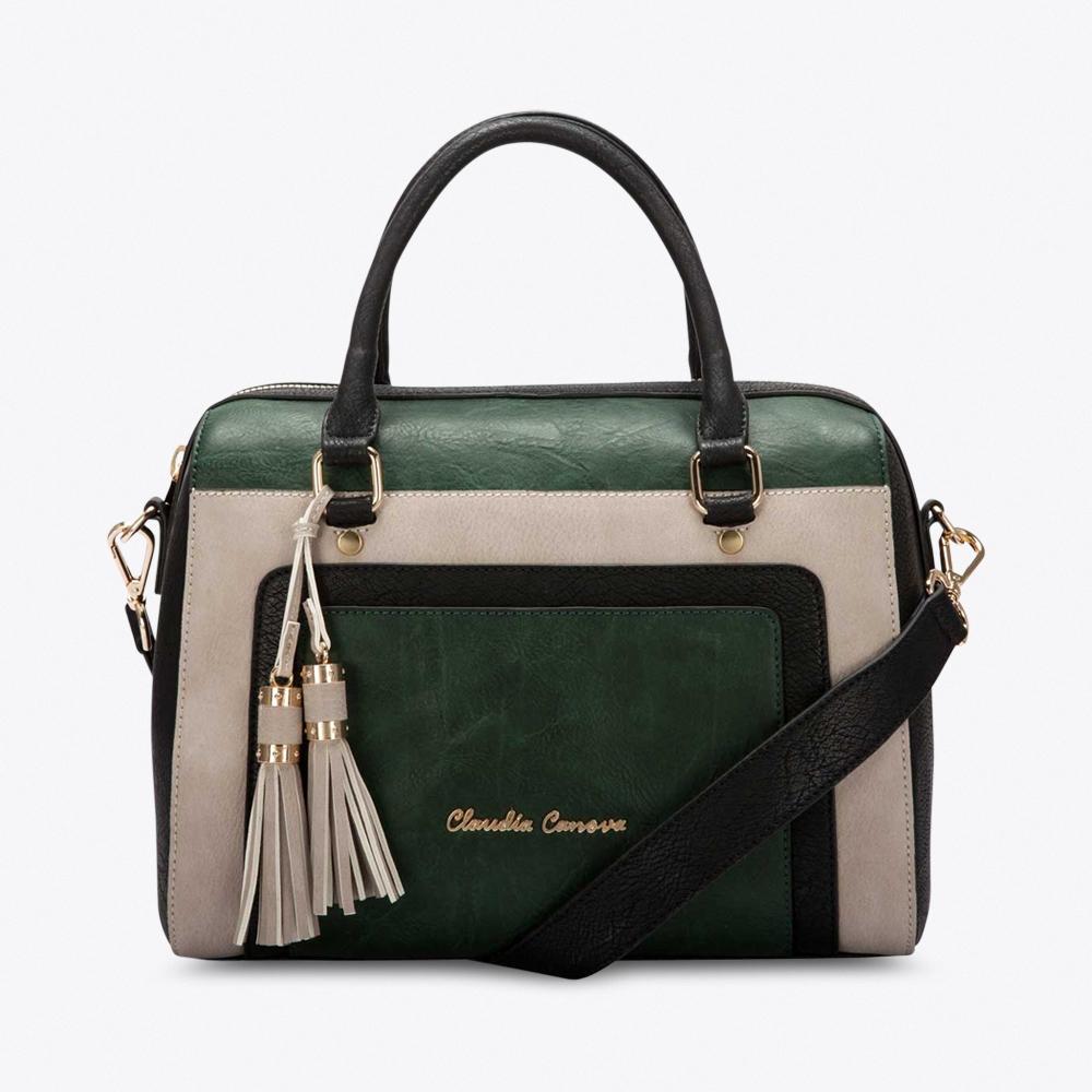 Rosa Bowling Bag in Green