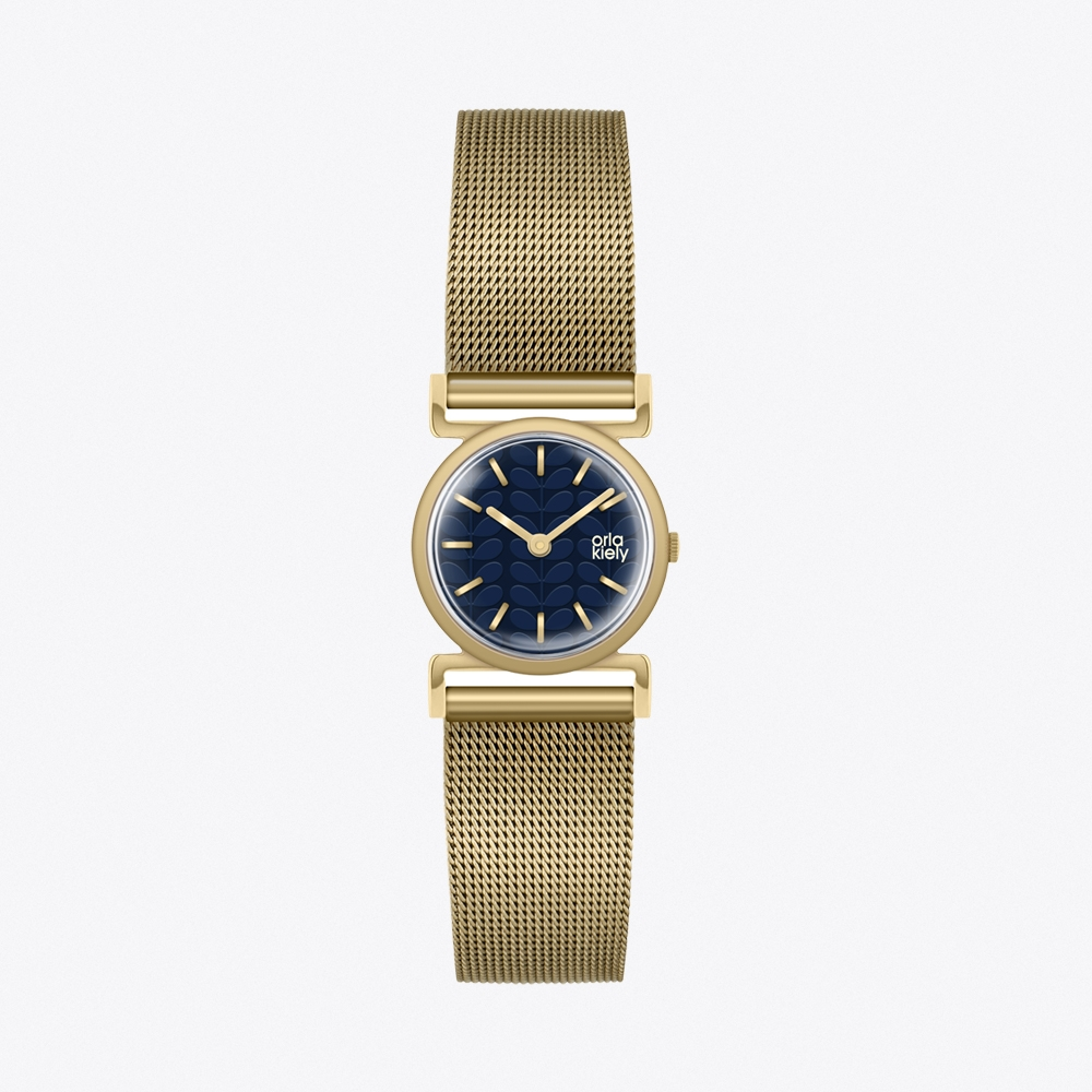 Cecelia Watch in Pear & Rose Gold