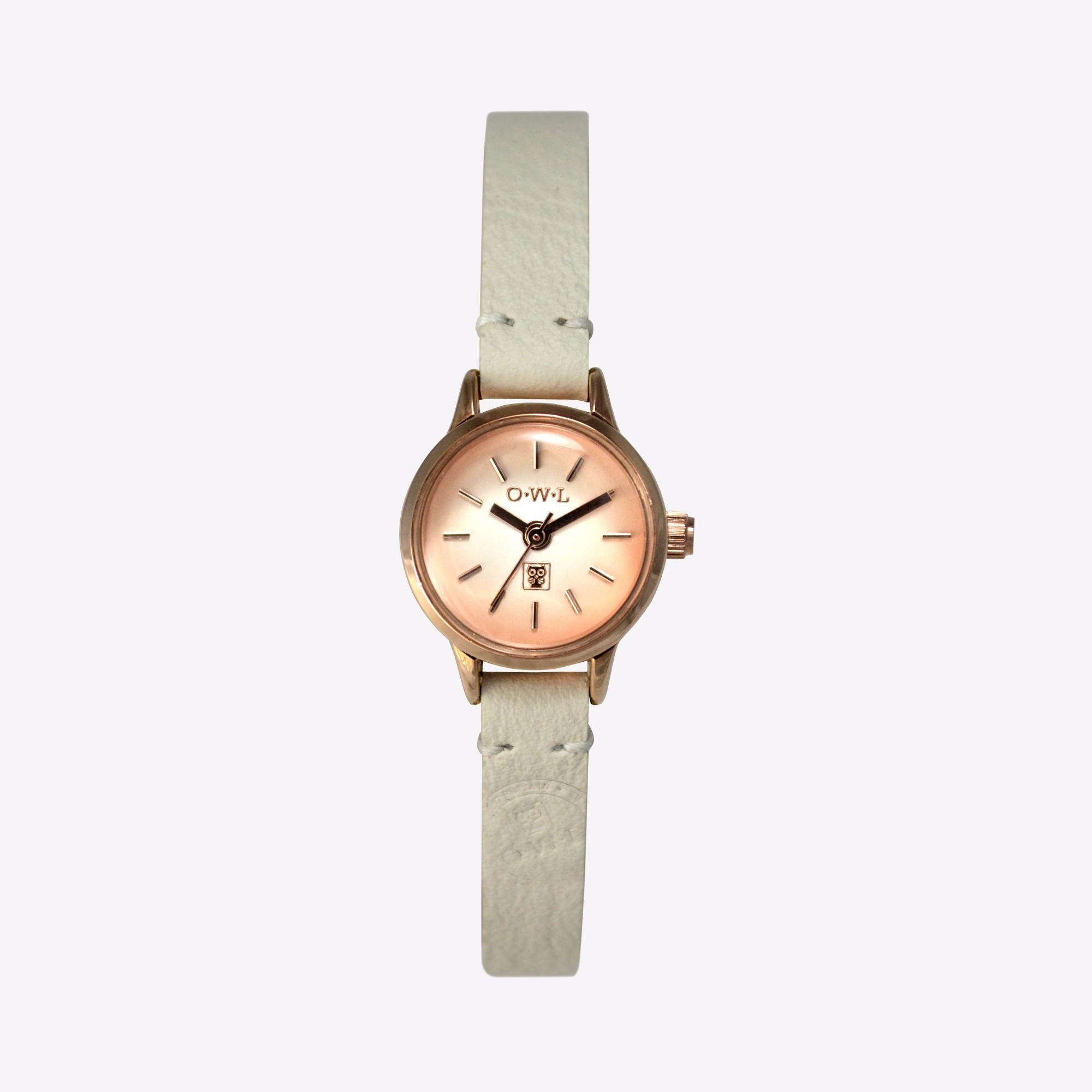 conwy watch in rose gold