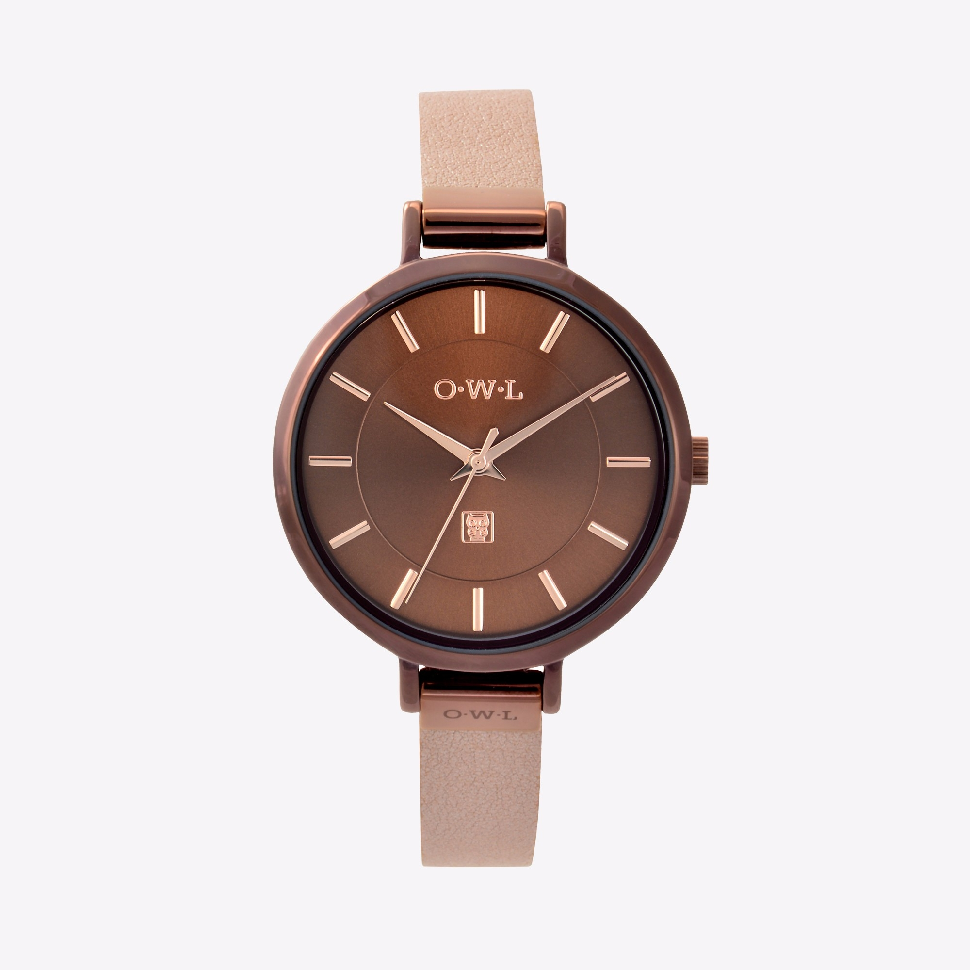 the mayfair watch in rose gold