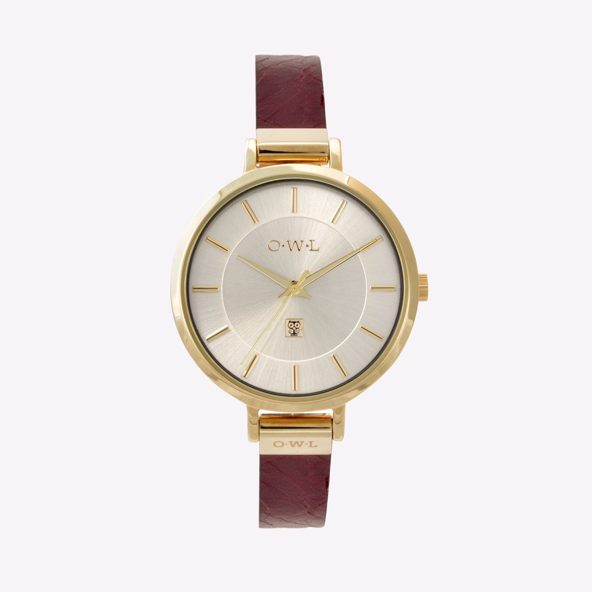 The Mayfair Watch in Gold