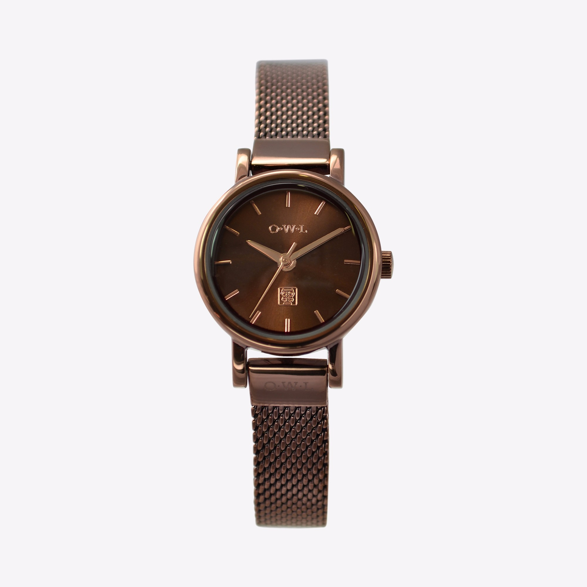 The Ashbourne Watch in Rich Brown