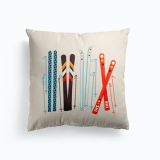 Retro Ski 3 Cushion