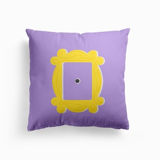 Friends Picture Frame Door Cushion