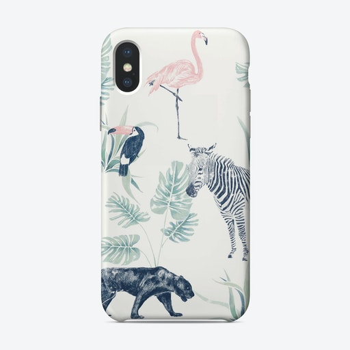 Chiqsafari iPhone Case