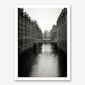 Warehouse District Hamburg 2 Art Print
