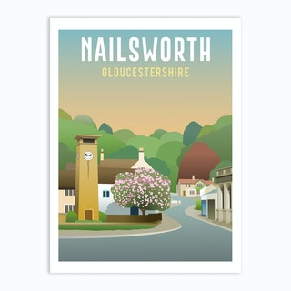 Nailsworth Art Print