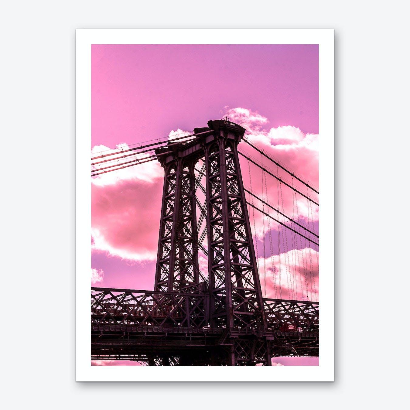 Williamsburg Bridge Art Print