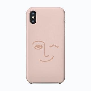 Winky Face Phone Case