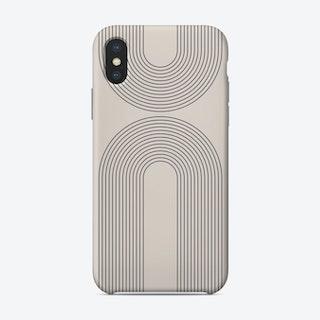 Arches Rainbow Neutral Phone Case