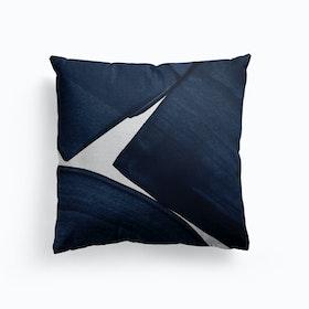 Minimalist Painting Blue Ii Cushion