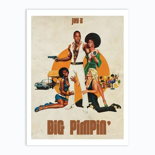 Big Pimpin Art Print