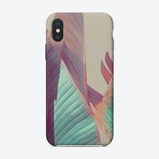 Banana Leaf 2  iPhone Case