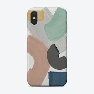 Pastel Paint Blocks Phone Case