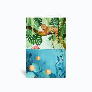 Welcome to the jungle Greetings Card