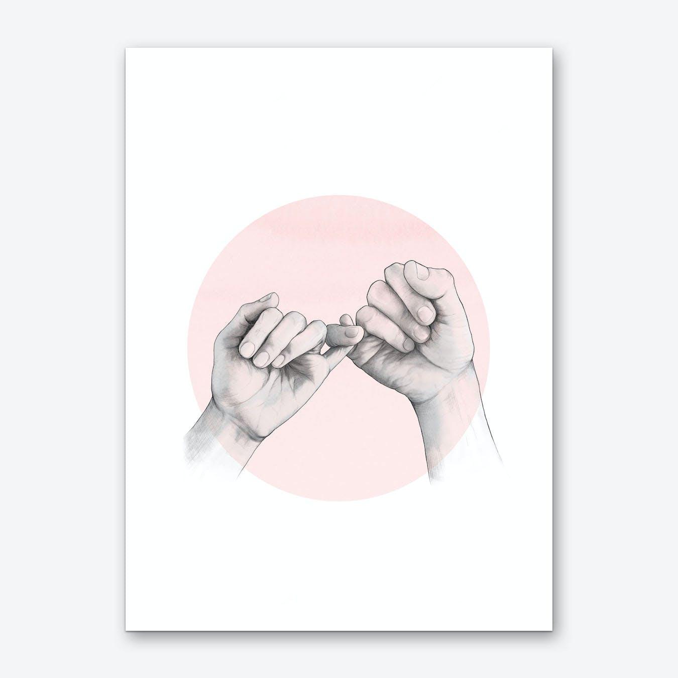 Pinky Swear Art Print