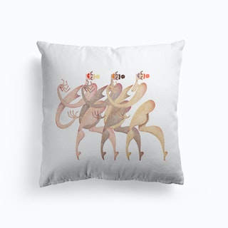Synchronised Swimmers Cushion