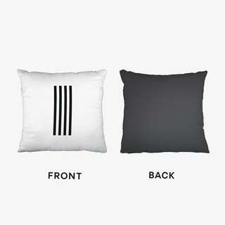 Black Letter I Cushion