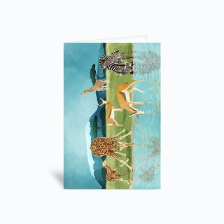Savannah Greetings Card
