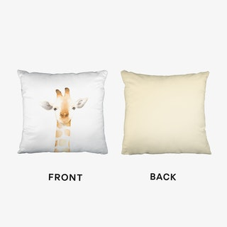 Nursery Giraffe Cushion