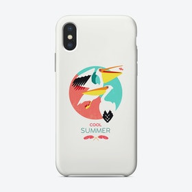 Summer Pelicans Phone Case