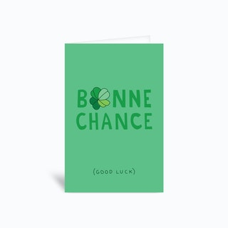 Bonnechance Greetings Card