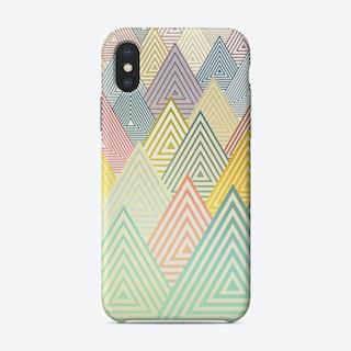 Pastel Mountains Phone Case