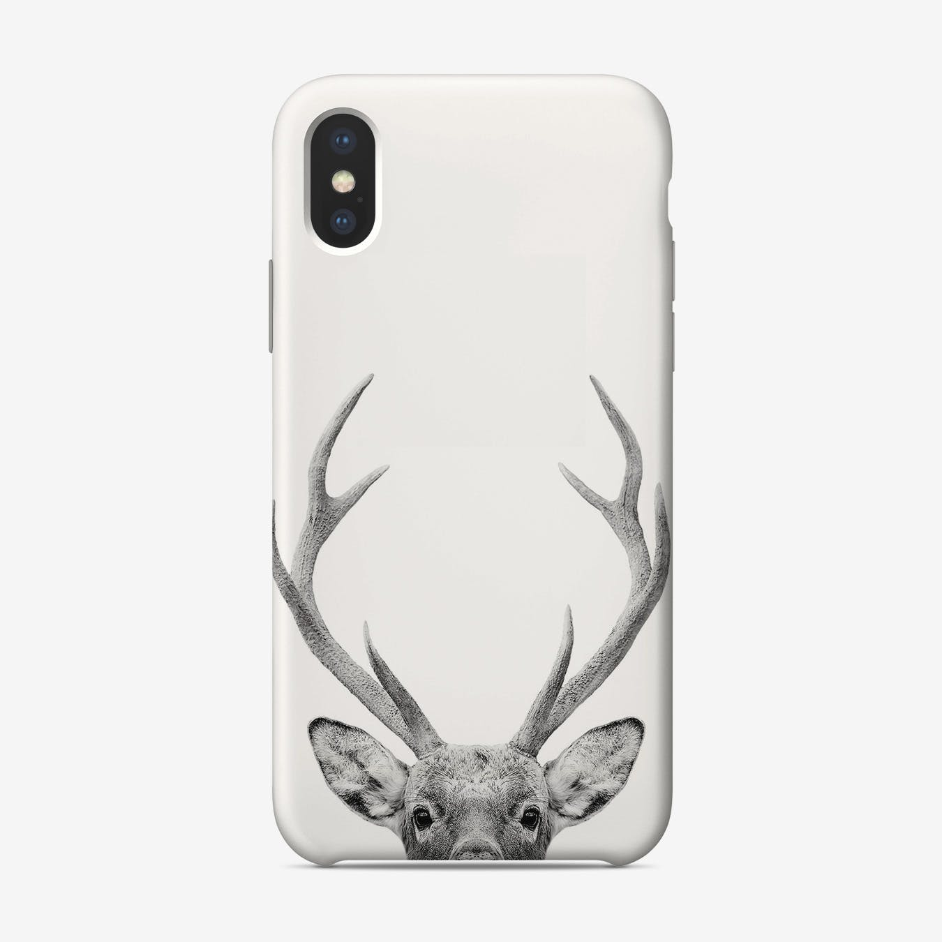 Deer B&W iPhone Case