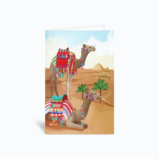 Desert Adventure Greetings Card