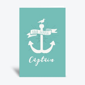 Our Little Captain  Greetings Card