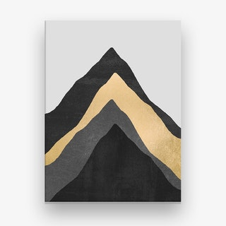 Four Mountains Canvas Print